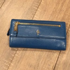 Cobalt Blue Cole Haan Wallet Clutch